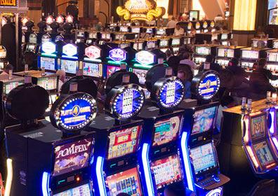 Slot Machines in the Eldorado Shreveport Casino