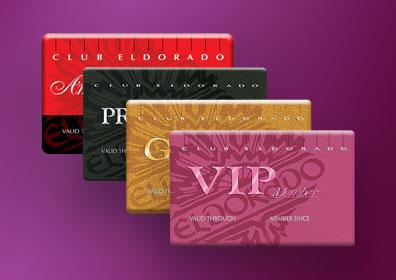 The 4 Club Eldorado Card Levels