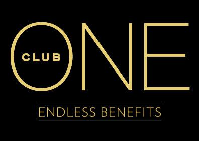 ONE Club logo with endless benefits