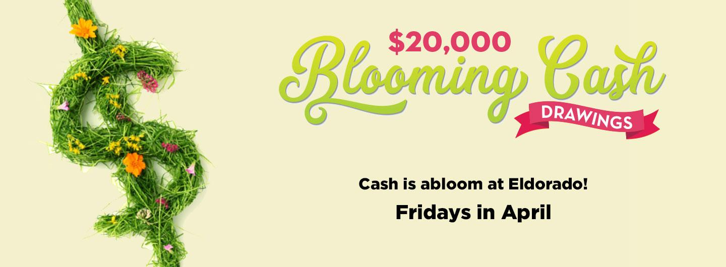 $20,000 Blooming Cash Drawings