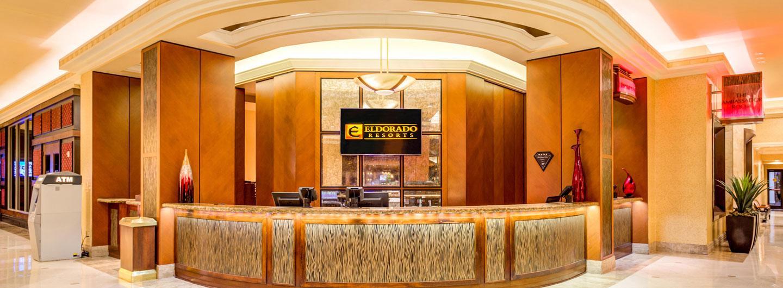 Hotel Front Desk & Lobby area tat the Eldorado Resort Casino Shreveport