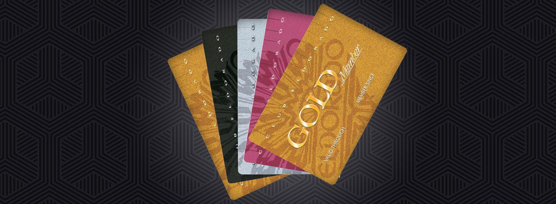 The 4 Club Eldorado Card Levels