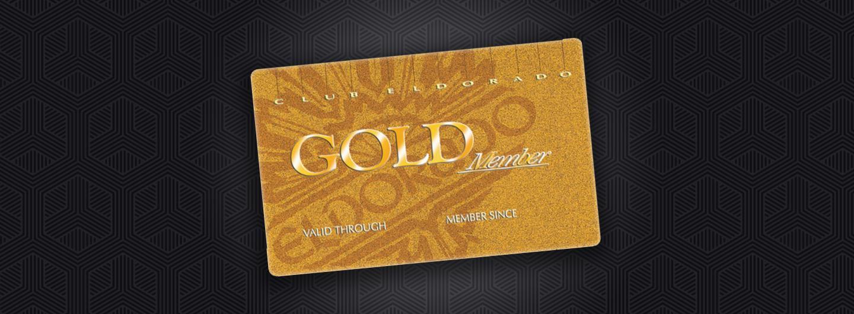 Club Eldorado Gold Member Card