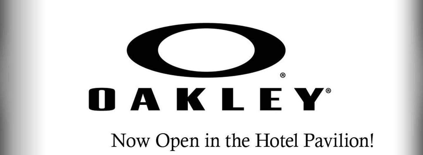 The Oakley brand name of sunglasses.