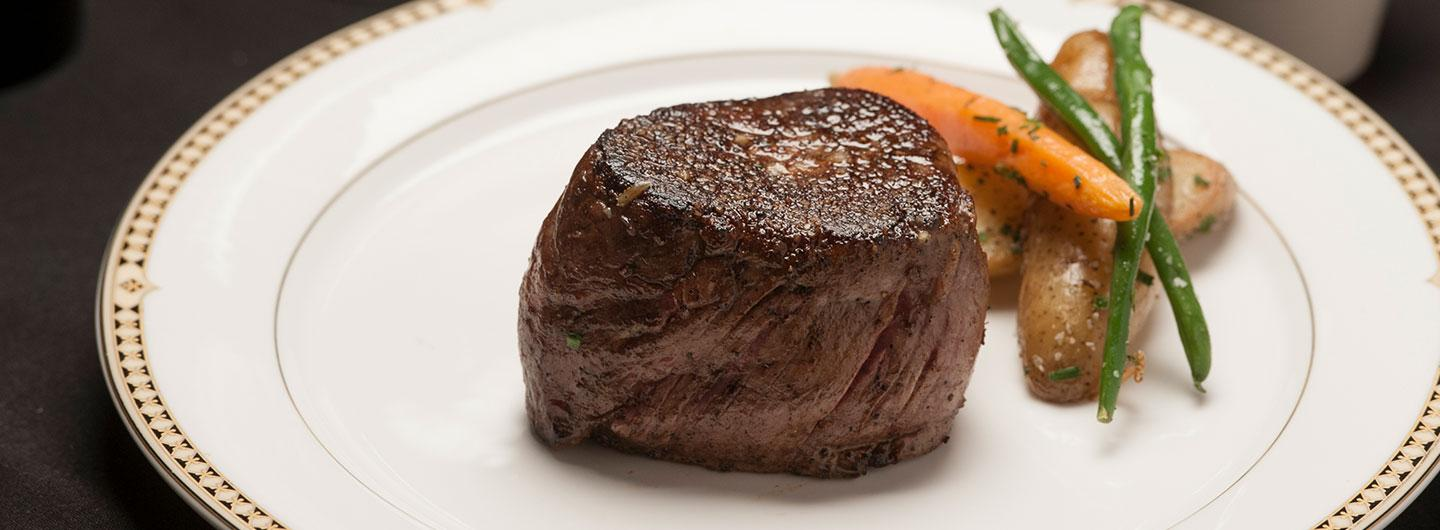 Steak from The Vintage