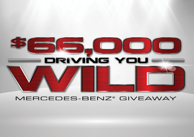 $66,000 Driving You Wild Mercedes-Benz Giveaway