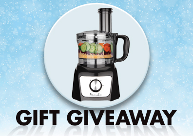 Food Processor image February Gift Giveaway