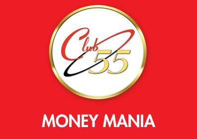Club 55 Logo MONEY MANIA