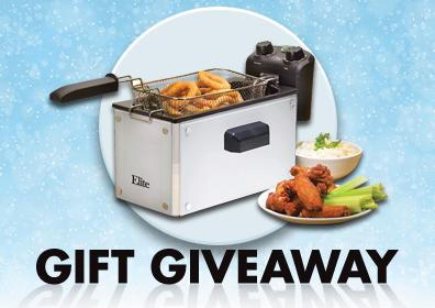 Electric Deep Fryer February Gift Giveaway