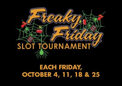 FREAKY FRIDAY SLOT TOURNAMENT