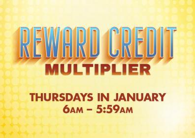 Rewards Credit Multiplier Image