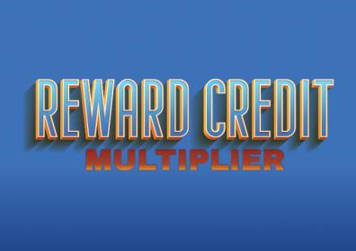 REWARD CREDIT MULTIPLIER logo