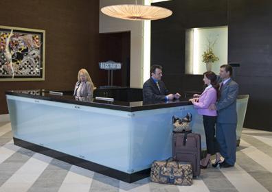 Le Merigot Hotel Front Desk