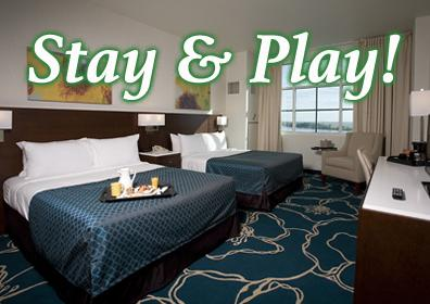 Stay & Play at Tropicana Evansville!