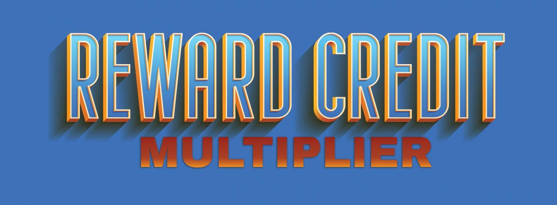 Reward Credit Multiplier Thursdays in May