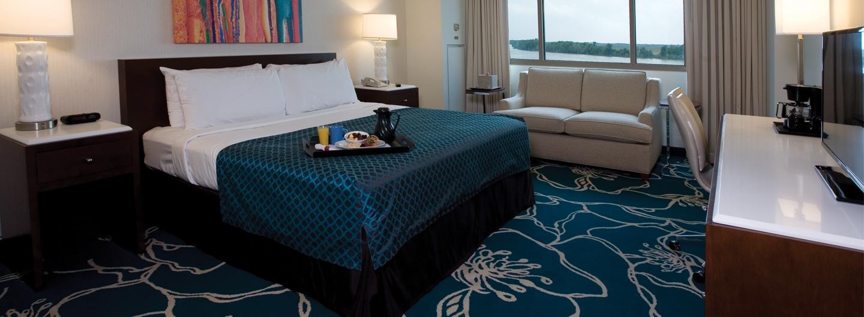 Tropicana Evansville Standard Hotel Room