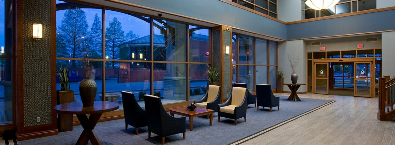 Tropicana Evansville Hotel Lobby
