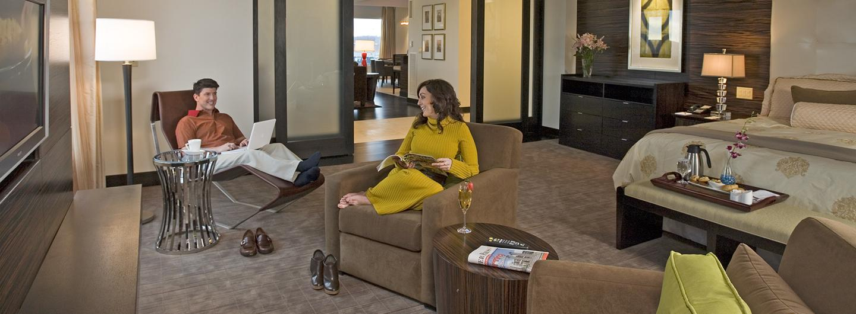Le Merigot Presidential Suite Bedroom