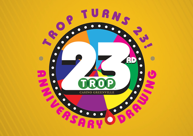 Graphic design Trop's 23rd  Anniversary