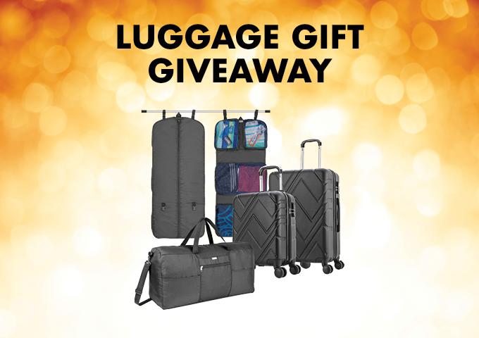 Luggage Gift Giveaway