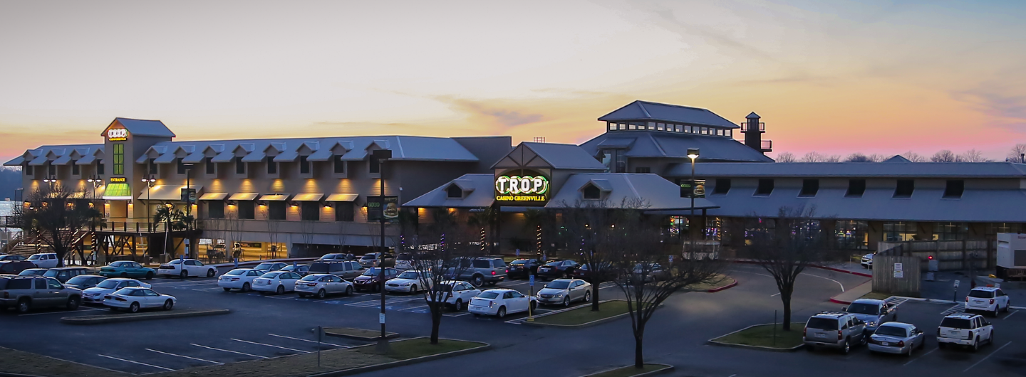 Property shot of Trop Casino Greenville.