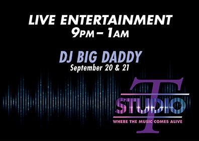 Live DJ Big Daddy