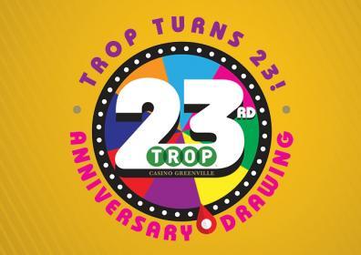 Graphic design Trop's 23rd  Anniversary