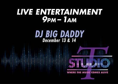 Graphic design live DJ Big Daddy