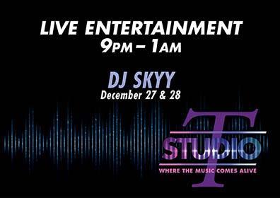 Graphic design DJ Skyy live