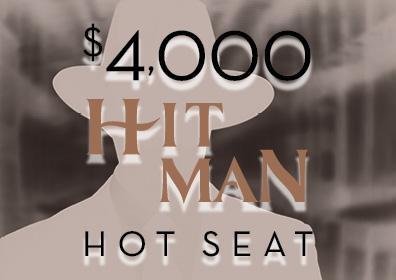 Graphic design Hit man hot Seat