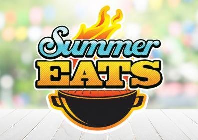 Graphic Design logo for Summer Eats Giveaway