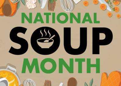 National Soup Month Drawing Promotion