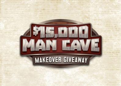 $15,000 Man Cave Makeover Giveaway