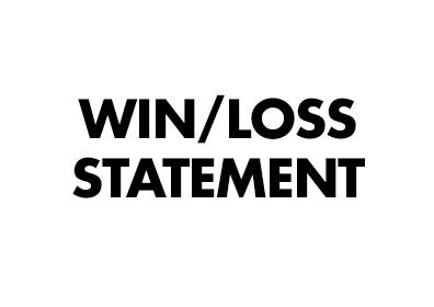 Win Loss Statements