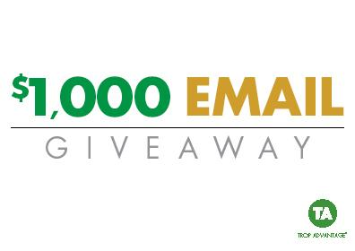 $1,000 Email Giveaway