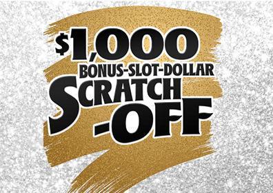 Graphic image $1000 Bonus Slot Dollar Scratch Off