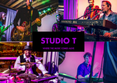 Collage of Various Musicians Performing at Studio T