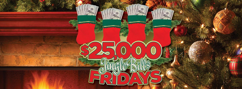 Graphic image $25K Jingle Bills