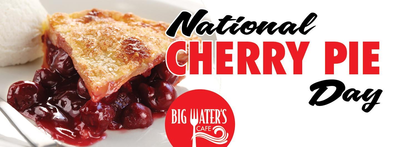 Graphic design National Cherry Pie Day