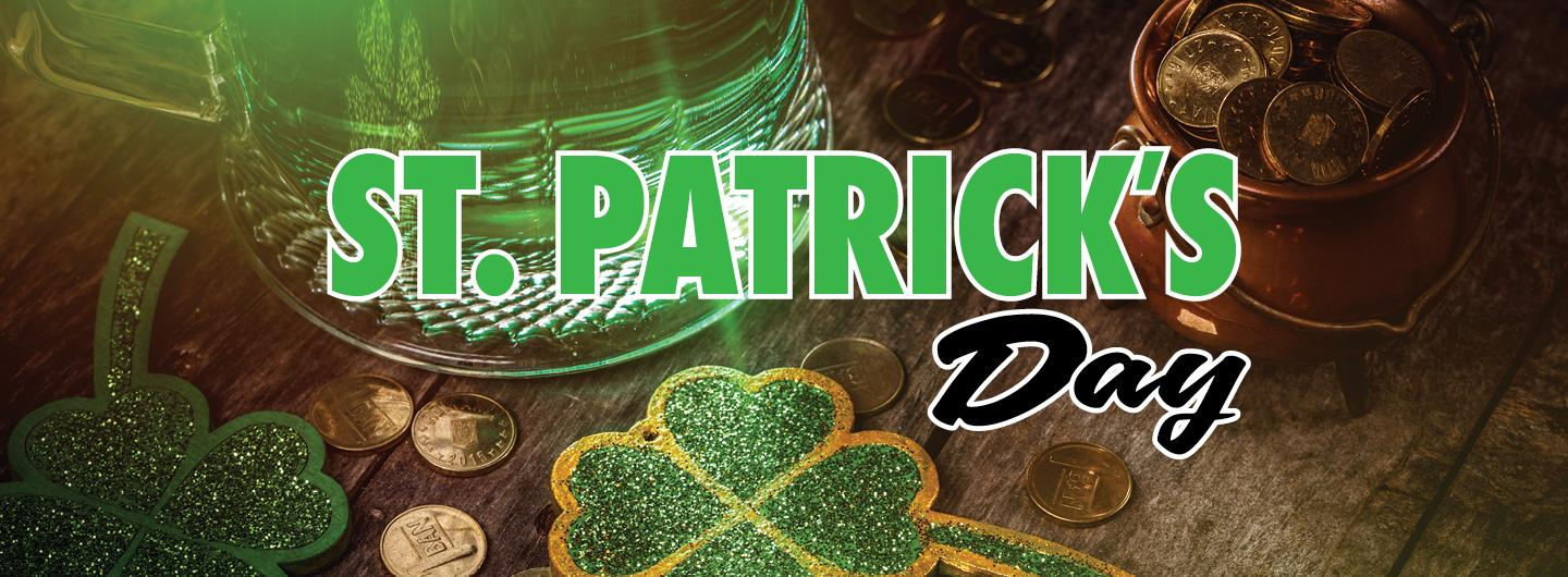 Graphic Image of St. Patrick's Day festive green print