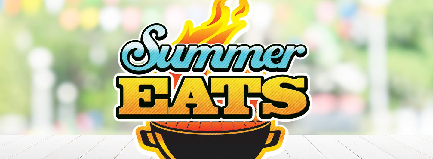 Graphic Design logo for Summer Eats Giveaway