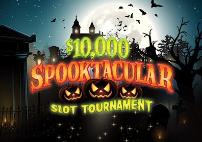 Spooktacular Slot Tournament Card
