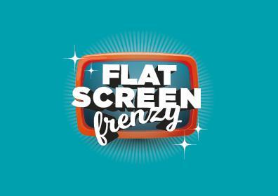 flat screen frenzy card