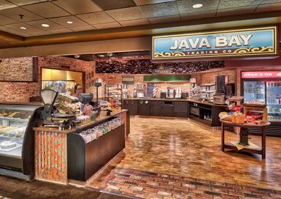 interior of Java Bay Trading Co