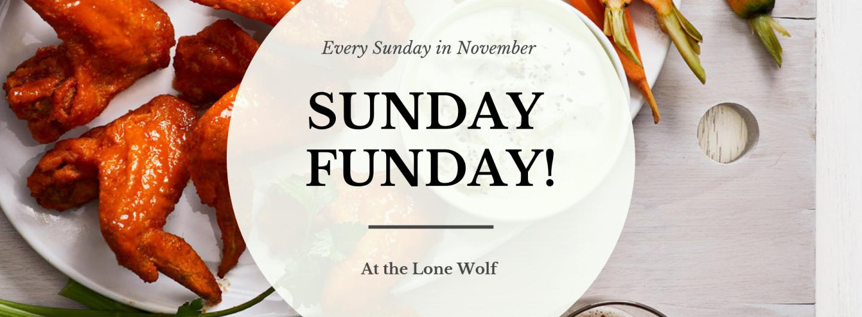 """<img src=""""Sunday-Funday-Hero.png"""" alt=""""Sunday Funday at the Lone Wolf Image""""/>"""