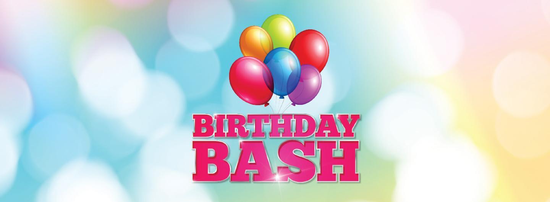 Birthday Bash Hero Image