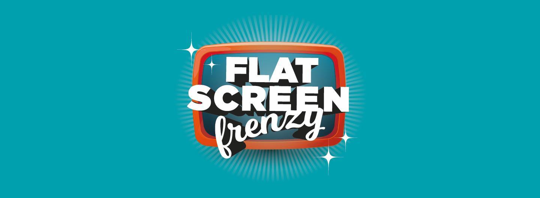 flat screen frenzy hero