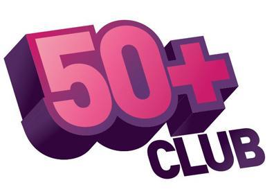 50+ Club Logo
