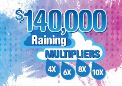 Raining Multiplier Logo