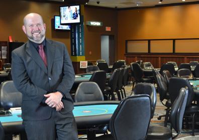 David in poker room